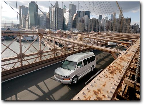 Chevrolet Explorer Conversion Van. Explorer Conversion Vans
